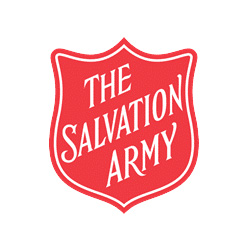 Salvation Army logo red