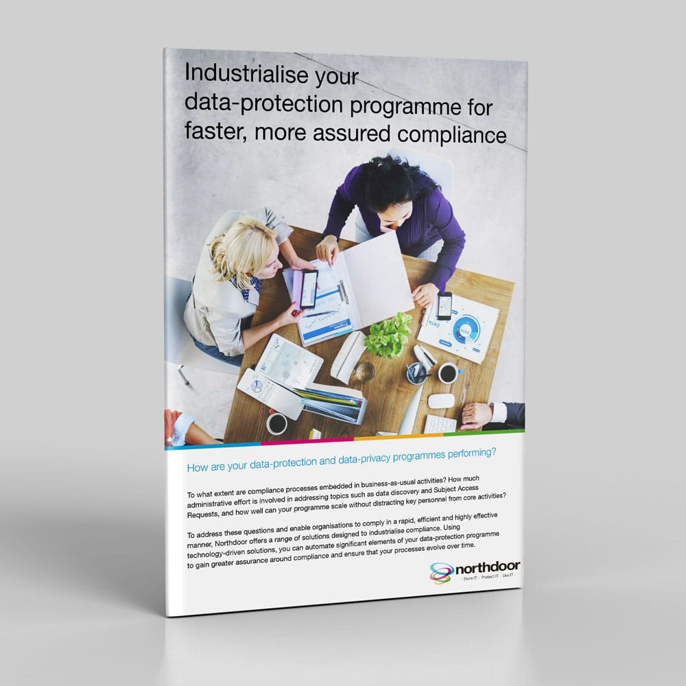 Industrialise your data-protection programme for faster, more assured compliance