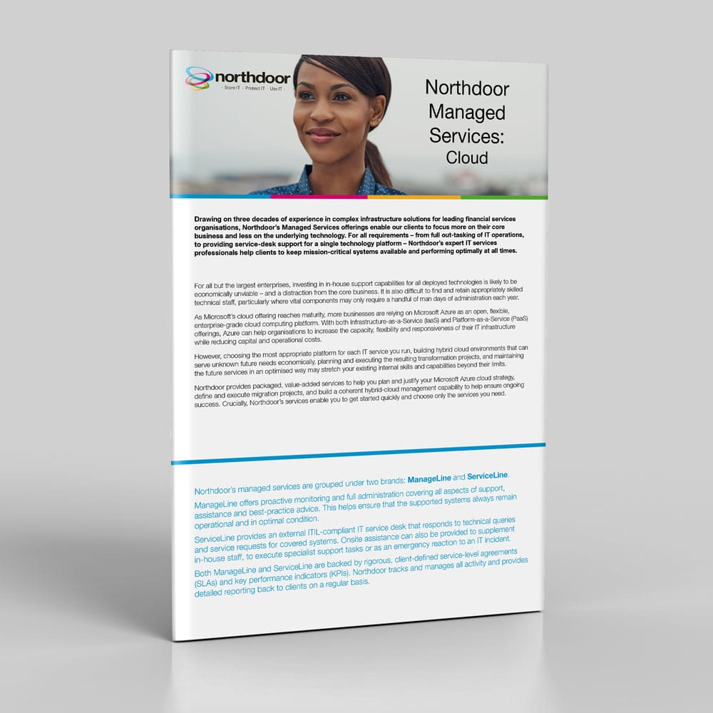 Cloud managed services from Northdoor