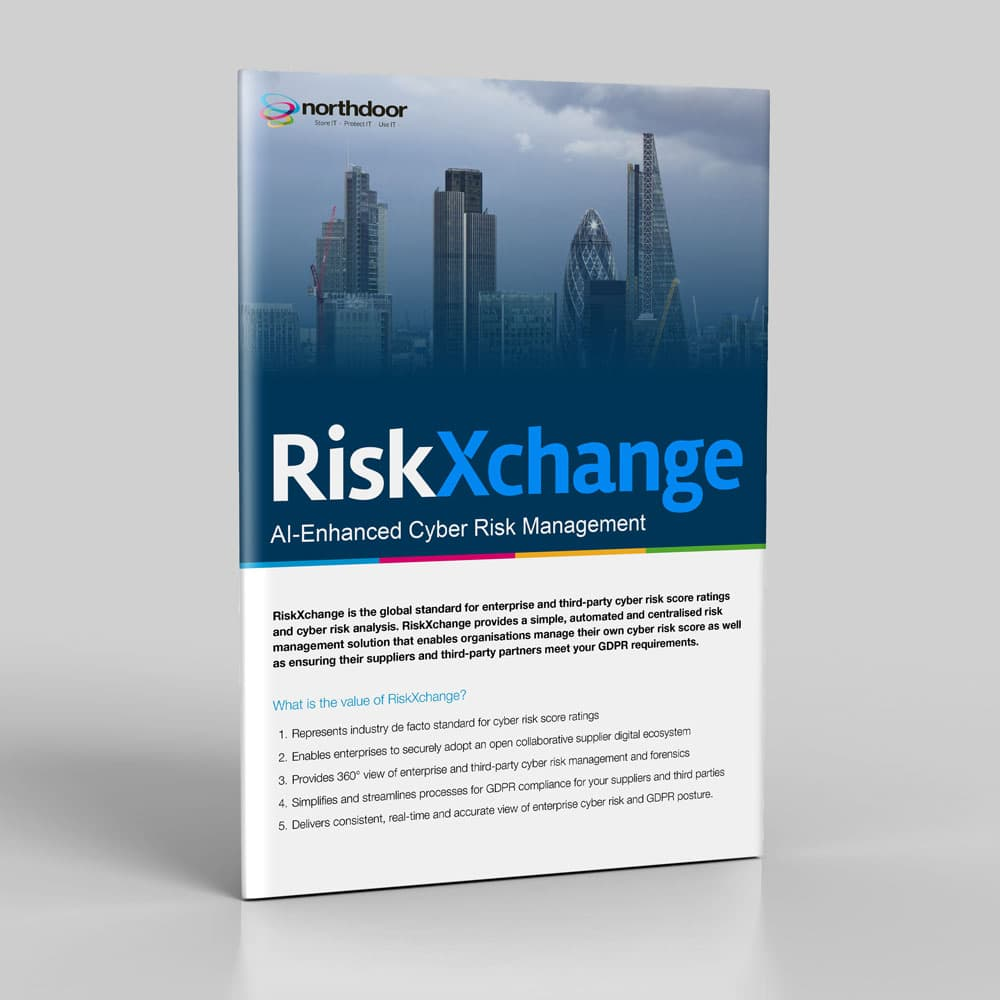 RiskXchange third-party cyber risk score ratings and cyber risk analysis tool
