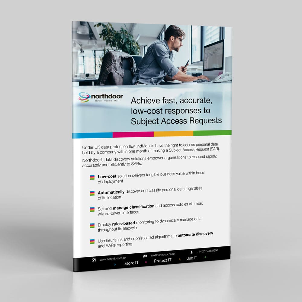 Achieve fast, accurate, low-cost responses to Subject Access Requests