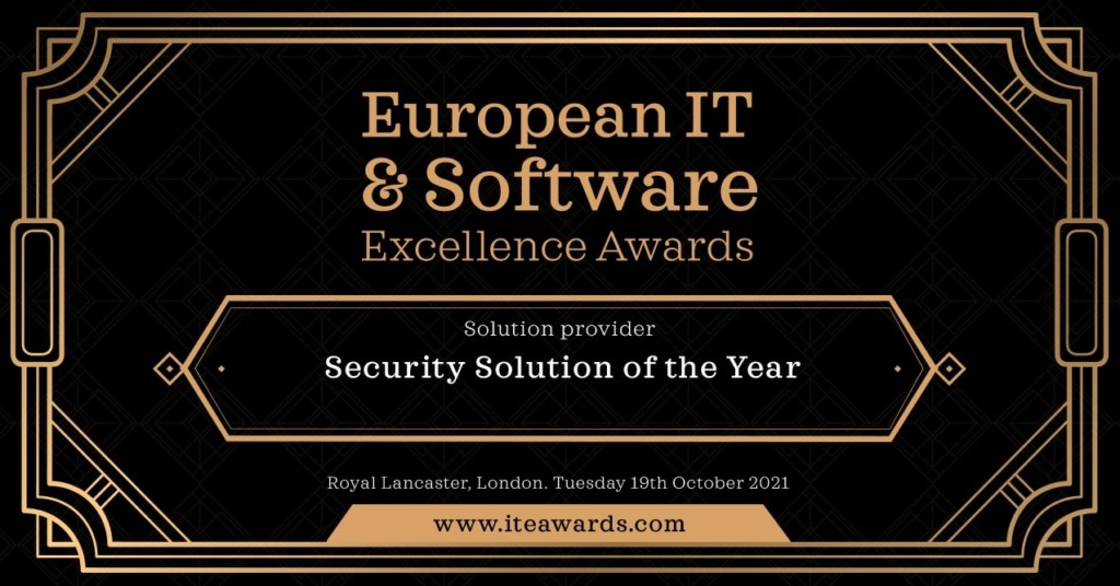 European IT and Software Excellence Awards 2021 Finalist