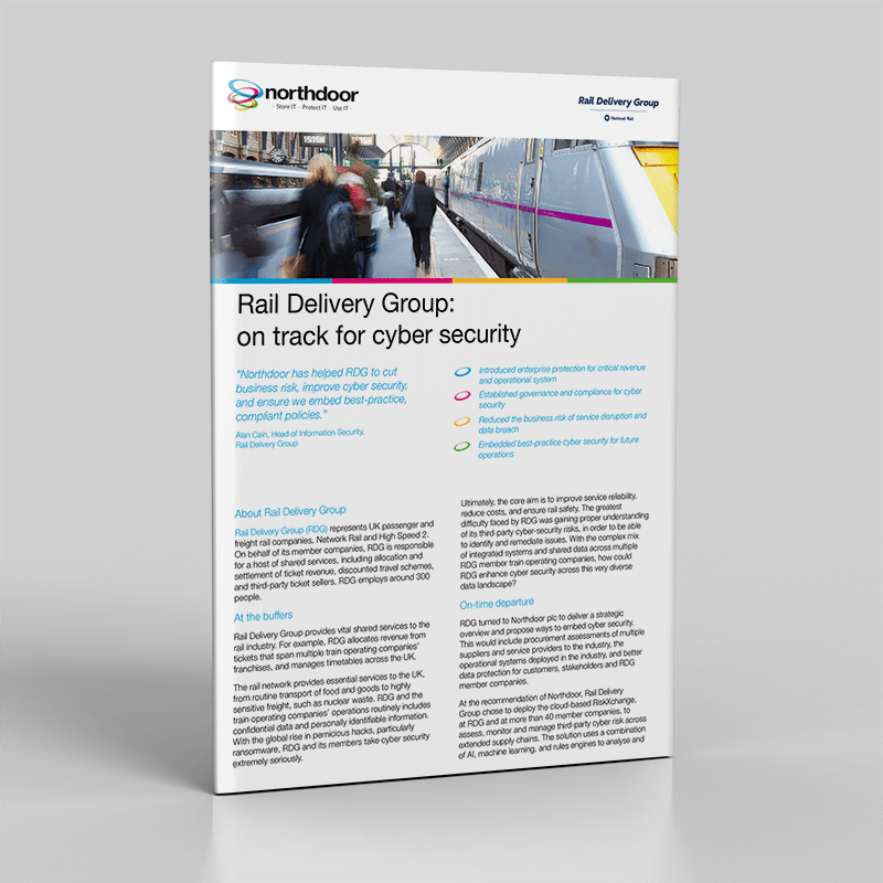 Rail Delivery Group - Cyber Security Risk Case Study
